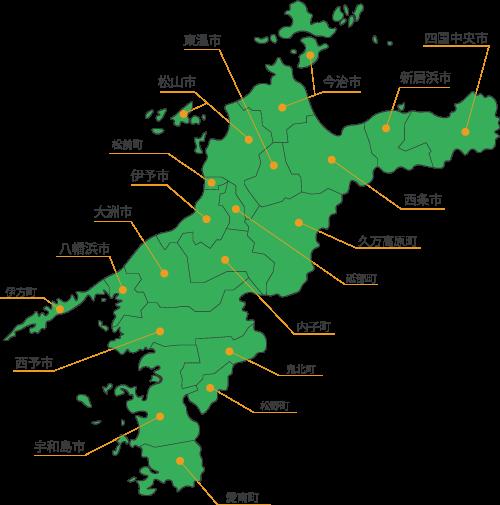 愛媛県全域